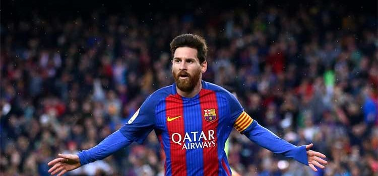 Barcelona striker lionel messi ground proud of Spain role
