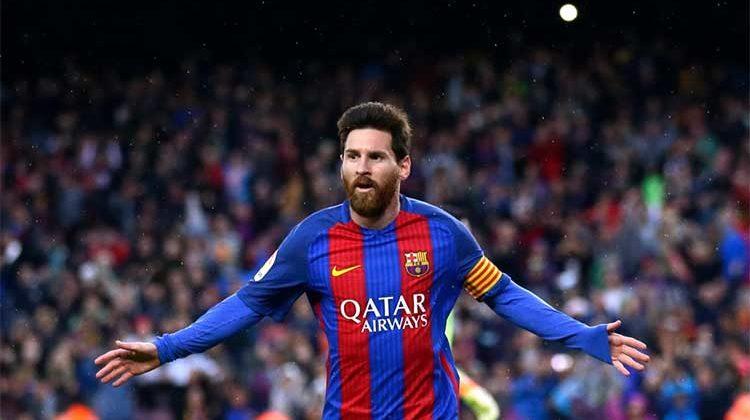Barcelona striker lionel messi ground proud of Spain role