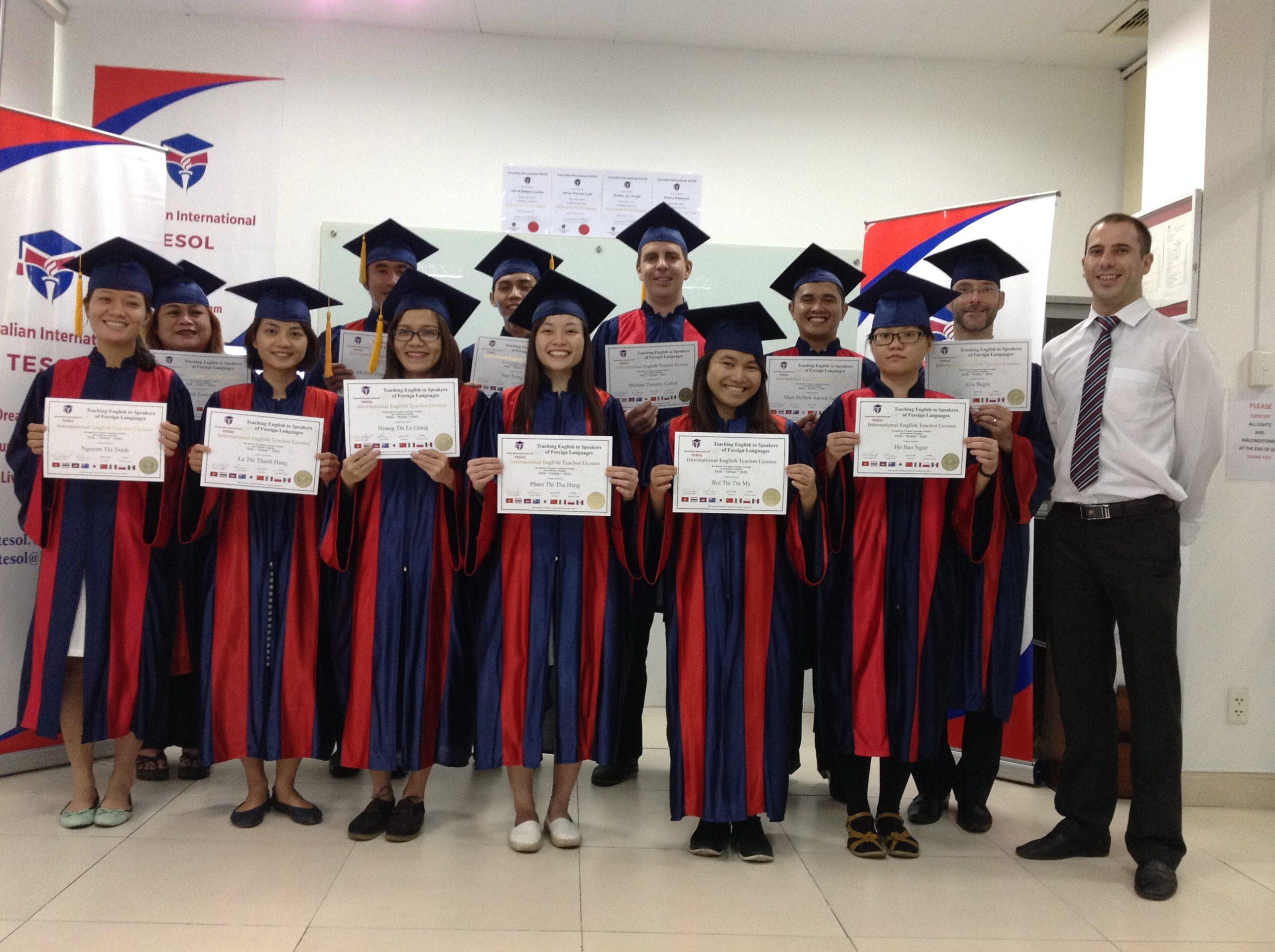 Học khóa học Tesol quốc tế